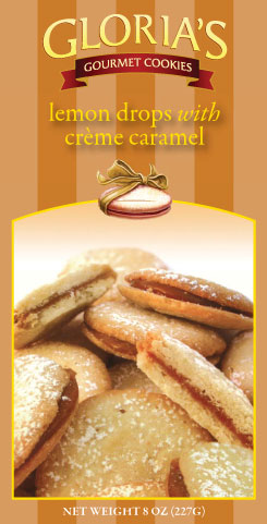 Lemon Drop with Cr�me Caramel