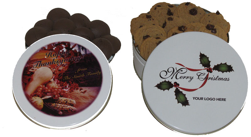 Customize Your Own Tin of Cookies